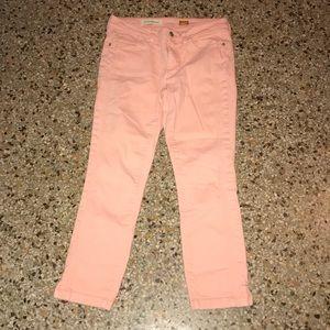 Anthro Capri Jeans Pilcro Size 27 stet